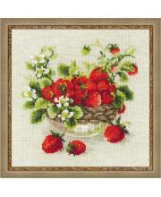 Набор для вышивания Садовая клубника РИОЛИС