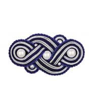 Набор для вышивания Заколка Морской узел РИОЛИС