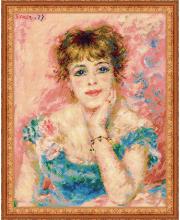 Набор для вышивания Портрет Жанны Самари РИОЛИС