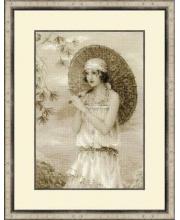 Набор для вышивания Старая фотография Ривьера РИОЛИС