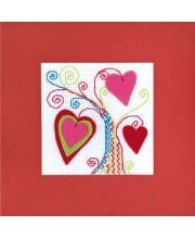 Набор для вышивания Открытка Валентинов день РИОЛИС
