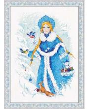 Набор для вышивания Снегурочка РИОЛИС