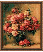 Набор для вышивания Букет роз РИОЛИС