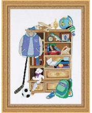 Набор для вышивания Шкафчик для мальчика РИОЛИС