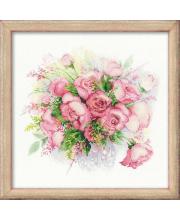 Набор для вышивания Акварельные розы РИОЛИС