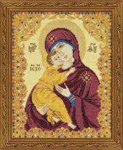 Набор для вышивания Богоматерь Владимирская РИОЛИС