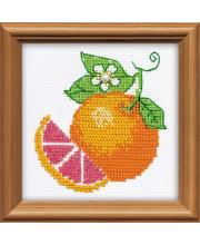 Набор для вышивания Апельсин РИОЛИС