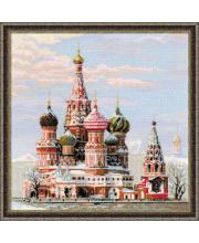 Набор для вышивания Москва Собор Василия Блаженного РИОЛИС