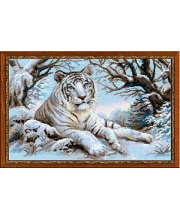 Набор для вышивания Бенгальский тигр РИОЛИС