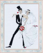 Набор для вышивания Свадебное танго РИОЛИС