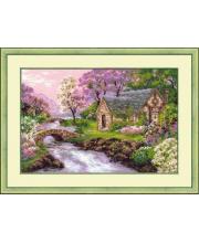 Набор для вышивания Весенний пейзаж РИОЛИС