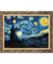 Набор для вышивания Ван Гог Звёздная ночь РИОЛИС