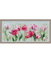 Набор для вышивания Весенние тюльпаны РИОЛИС
