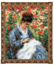 Набор для вышивания Мадам Моне за вышивкой РИОЛИС