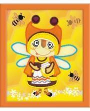 Частичная вышивка Бабушка Пчела РИОЛИС