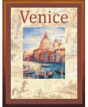Частичная вышивка Города мира Венеция РИОЛИС
