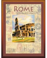 Частичная вышивка Города мира Рим РИОЛИС