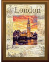 Частичная вышивка Города мира Лондон РИОЛИС