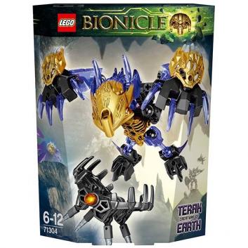 Конструктор Биониклы Терак - Тотемное животное Земли