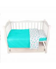 Комплект постельного белья BABY BOOM Amarobaby