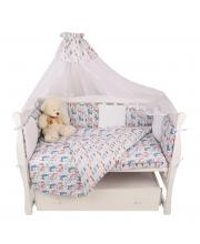 Комплект Premium в кроватку Amarobaby