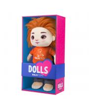 Мягкая игрушка кукла Бориска 35 см