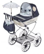 Коляска складная с сумкой и зонтиком серии Романтик 81 см DeCuevas
