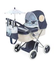Коляска для куклы с сумкой и зонтиком серии Романтик 60 см DeCuevas