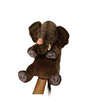 Слон игрушка на руку 24 см Hansa