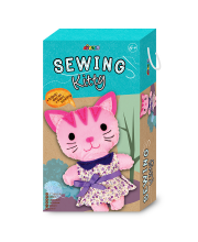 Набор для шитья мягкая игрушка Кошечка Avenir