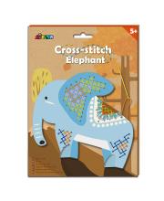 Набор для вышивания крестиком Слон Avenir