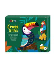 Набор для вышивания крестиком Лесные птицы Avenir