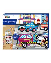 Картина из пиксельной мозаики Транспорт Avenir