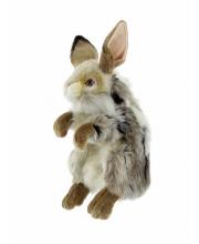 Заяц игрушка на руку 35 см Hansa