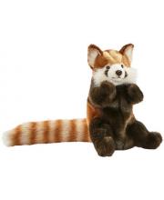 Красная панда игрушка на руку 20 см
