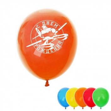 Шар Воздушный С Днем Рождения! Самолеты 5 шт.