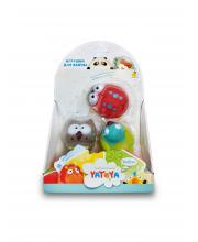 Игрушка для ванной Лесные жители 3 штуки ЯиГрушка