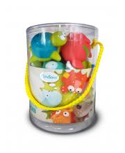 Игрушка для ванной Морские животные 9 штук ЯиГрушка