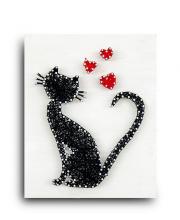 Стринг арт Кошка String Art Lab