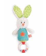 Погремушка заяц Макс Happy Baby
