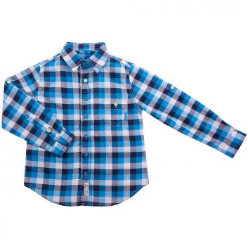 Мальчики, Рубашка Button Blue (голубой)635913, фото