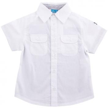 Мальчики, Рубашка Button Blue (белый)636087, фото