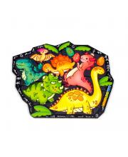 Пазл Динозавры Woodland