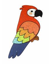 Пазл Попугай Woodland
