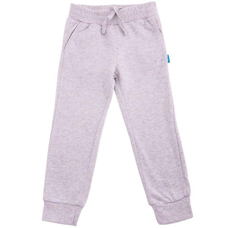 БрюкиБрюки серого цвета марки Button Blue для девочек.<br>Хлопковые спортивные брюки декорированы разноцветным принтом конфетти, а также дополнены карманами, поясом и манжетами на широкой эластичной резинке. Пояс регулируется завязками с внутренней стороны.<br><br>Размер: 12 лет<br>Цвет: Серый<br>Рост: 152<br>Пол: Для девочки<br>Артикул: 636341<br>Бренд: Россия<br>Страна производитель: Китай<br>Сезон: Весна/Лето<br>Состав: 80% Хлопок, 20% Полиэстер