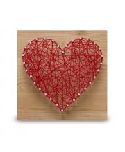 Стринг арт Сердце String Art Lab