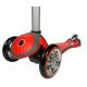 Спорт и отдых, Самокат Y-Scoo RT My free ALU Chrome Globber (красный)650347, фото 5