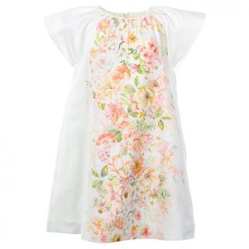 Девочки, Платье MAYORAL (белый)644086, фото