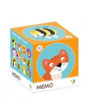 Настольная игра Мемори животные Dodo