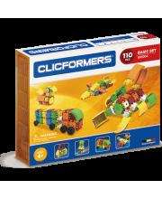 Конструктор Basic Set 110 деталей CLICFORMERS